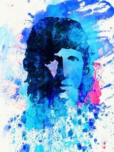 Legendary Roger Waters Watercolor by Olivia Morgan