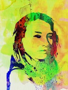 Legendary Tori Amos Watercolor by Olivia Morgan