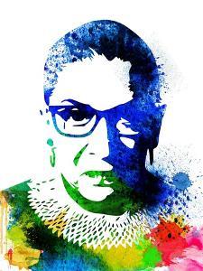 Ruth Bader Ginsburg I by Olivia Morgan