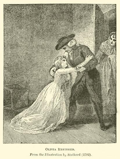 Olivia Restored--Giclee Print