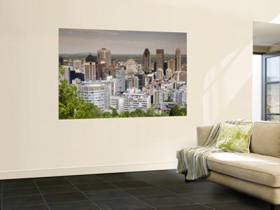 Cityscape from Top of Parc Du Mont-Royal