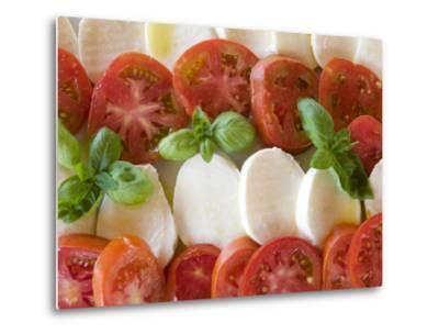 Tomatoes, Basil and Mozzarella Cheese