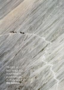 Mountain Path by Olivier Föllmi