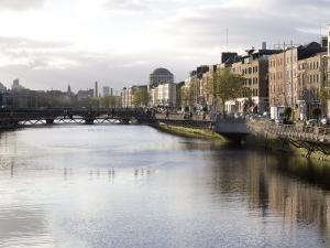 Liffey River, Dublin, Republic of Ireland, Europe by Oliviero Olivieri