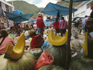 Market, Cuzco, Peru, South America by Oliviero Olivieri