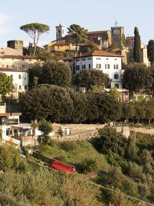 Montecatini Alto, Tuscany, Italy, Europe by Oliviero Olivieri