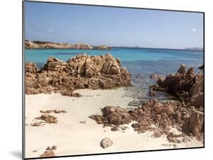 Spiaggia Rosa (Pink Beach) on Island of Budelli, La Maddalena Nat'l Park, Sardinia, Italy by Oliviero Olivieri