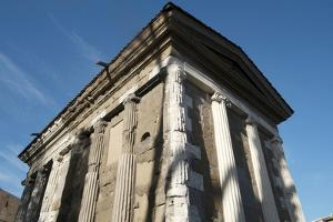 Temple Dedicated to the God of the Water (Portuno) (Temple of Portunus) by Oliviero Olivieri