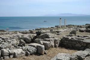 The Phoenician Roman Port of Tharros, Sardinia, Italy, Mediterranean, Europe by Oliviero Olivieri