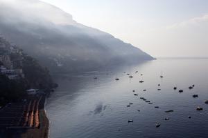 The Port of Positano by Oliviero Olivieri