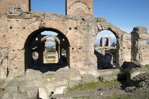 The Quintili Brothers Built This Magnificent Villa in the Year 151 BC on the Appian Way by Oliviero Olivieri
