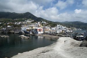 View of Borgo Saint'Angelo, Island of Ischia, Campania, Italy by Oliviero Olivieri