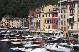 View of Portofino, Liguria, Italy, Mediterranean, Europe by Oliviero Olivieri