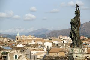 View of the City of Palermo, Sicily, Italy, Europe by Oliviero Olivieri