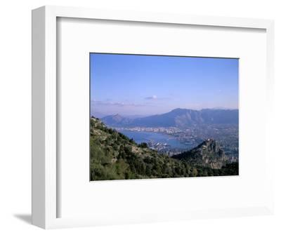 View Over Palermo, Island of Sicily, Italy, Mediterranean