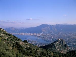 View Over Palermo, Island of Sicily, Italy, Mediterranean by Oliviero Olivieri
