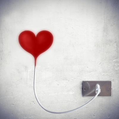 Heart Attached To A Socket by olly2