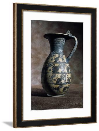 Olpe, Wine Jug, Terracotta--Framed Giclee Print