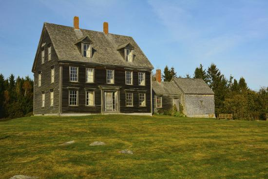 Olson House, Cushing, Maine, USA-Michel Hersen-Photographic Print