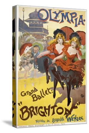 "Olympia - Grand Ballet: ""Brighton"" Poster Advertisement"