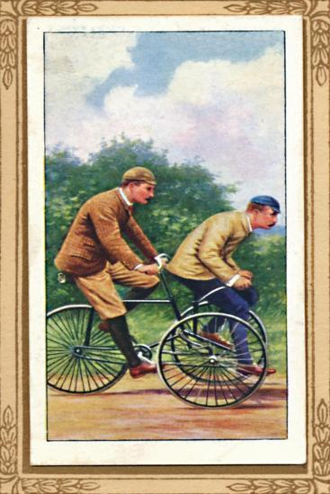 'Olympia Tandem Tricycle', 1939-Unknown-Giclee Print
