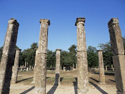 Olympia, Unesco World Heritage Site, Greece-Oliviero Olivieri-Photographic Print