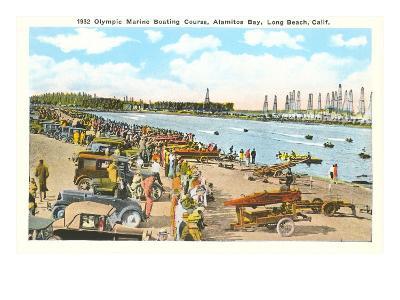 Olympic Boating Course, Long Beach, California--Art Print