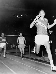 Olympic Champion, Billy Mills, Wins the Three-Mile Run Madison Square Garden, 1965