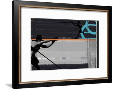 Olympic Effort-NaxArt-Framed Art Print