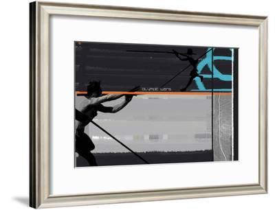 Olympic Effort-NaxArt-Framed Art Print