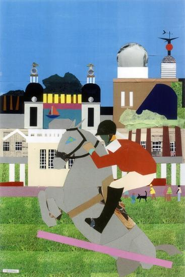 Olympic Equestrian Event in Greenwich Park, 2012-Frances Treanor-Giclee Print