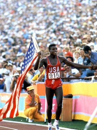 Olympic Games in Los Angeles, 1984 : 100M : Carl Lewis Winner