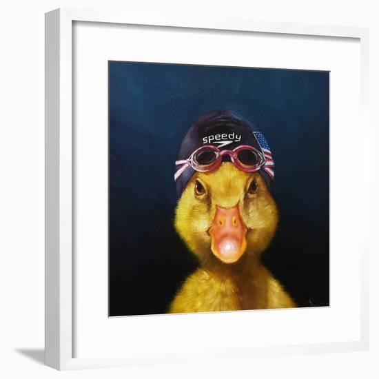 Olympic Hopeful No. 1-Lucia Heffernan-Framed Art Print