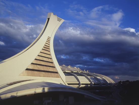 Olympic Stadium, Montreal, Quebec, Canada-Walter Bibikow-Photographic Print