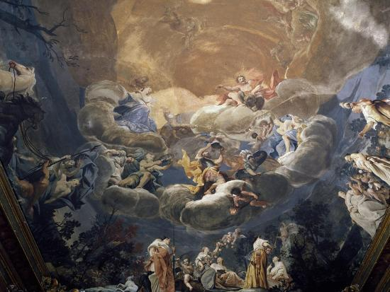 Olympus, 1690-1700-Giuseppe Maria Crespi-Giclee Print