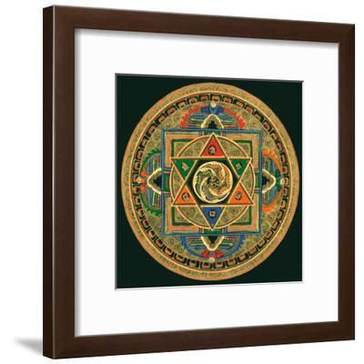 Om II--Framed Art Print