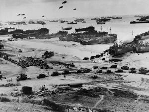 Omaha Beach after D-Day