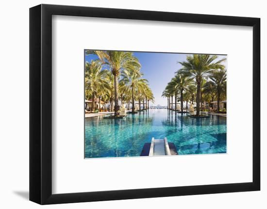 Oman. Muscat Governorate, Muscat-Nick Ledger-Framed Photographic Print