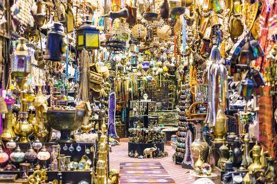 Oman, Muscat. Shop in the Old Mutrah Souk-Matteo Colombo-Photographic Print