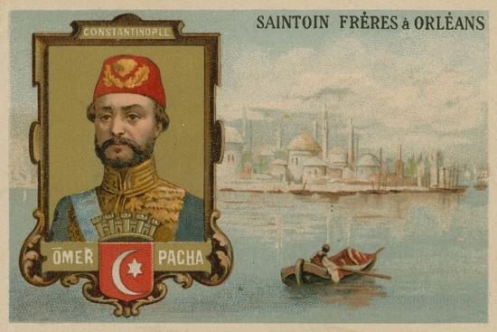 Omar Pasha, Ottoman General and Governor--Giclee Print