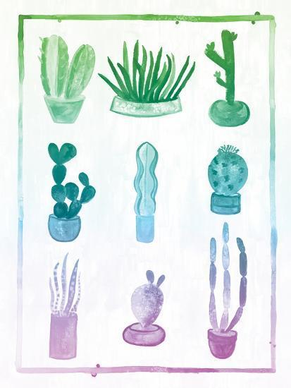 Ombre Cactus-Ashley Sta Teresa-Art Print