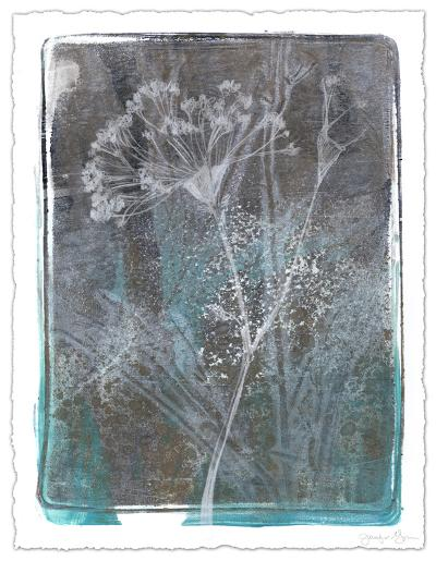 Ombre Wildflowers II-Jennifer Goldberger-Limited Edition