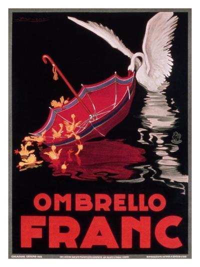 Ombrello Franc--Giclee Print