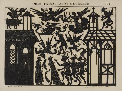 Ombres chinoises : la tentation de saint Antoine--Giclee Print