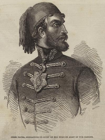 Omer Pacha, Commander-In-Chief of the Turkish Army of the Danube--Giclee Print