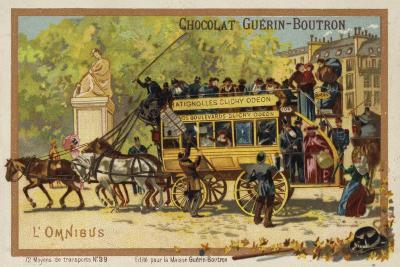 Omnibus--Giclee Print