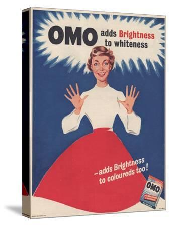 Omo, Washing Powder Detergent, UK, 1950