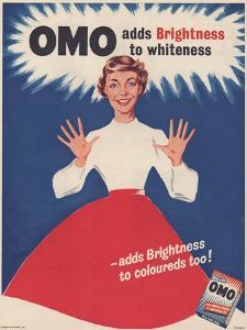 Omo, Washing Powder Detergent, UK, 1950