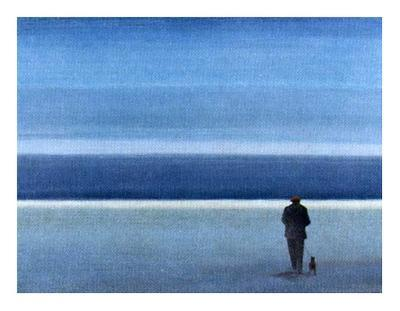 On a Solitary Beach I-M^ Bineton-Art Print