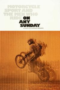 ON ANY SUNDAY, US poster, 1971.